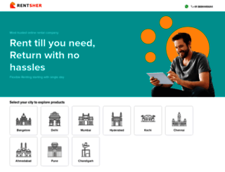 rentsher.com screenshot