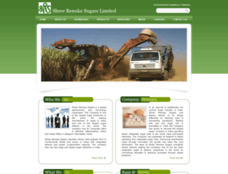 renukasugars.com screenshot