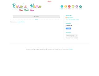 renushome.blogspot.sg screenshot
