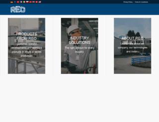 reo.co.uk screenshot