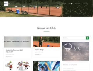 reotennis.nl screenshot