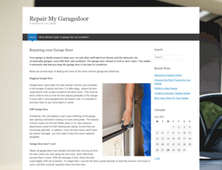 repair-my-garagedoor.com screenshot