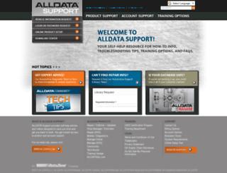 repair.alldata.com screenshot