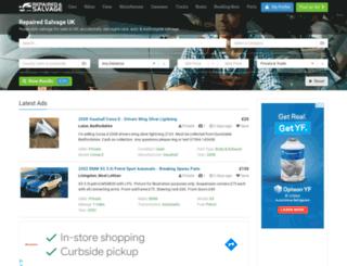 repairedsalvage.com screenshot