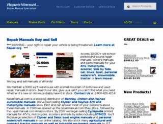 repairmanuals.com screenshot