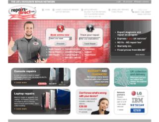 repairs-direct.com screenshot