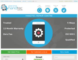 repairs.handtec.co.uk screenshot
