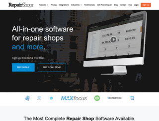 repairshopr.com screenshot