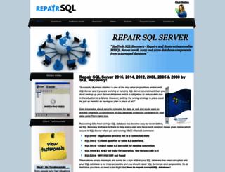 repairsqlserver.org screenshot