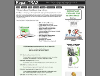 repairtrax.com screenshot