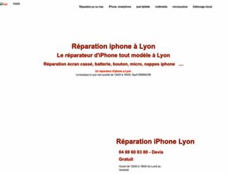 reparationmaclyon.com screenshot