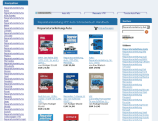 reparaturanleitungen-auto.de screenshot