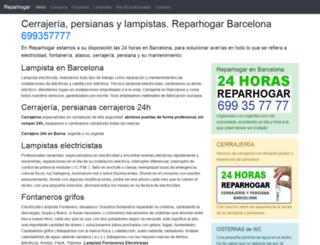 reparhogar.com screenshot