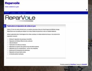 reparvoile.fr screenshot