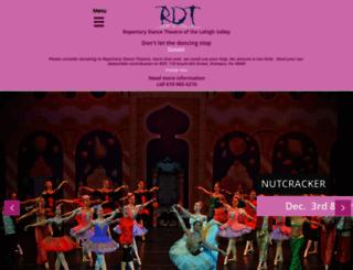 repertorydance.org screenshot