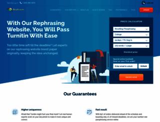 rephraser.net screenshot