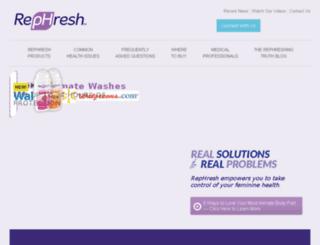 rephreshprob.com screenshot