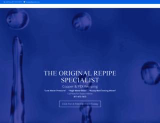 repipe-specialist.com screenshot