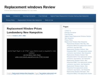 replacement-window-reviews.com screenshot