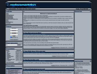 replacementdocs.com screenshot