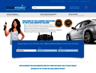 replacemyremote.com screenshot
