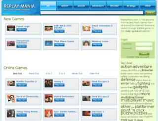 replaymania.com screenshot