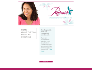 replenishstudy.com screenshot