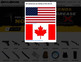 replicaairguns.ca screenshot