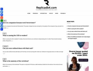 replicadb4.com screenshot