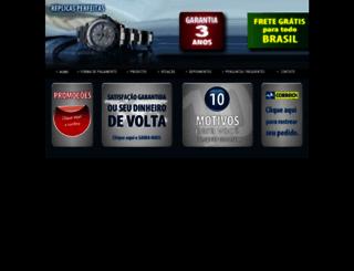 replicas-perfeitas.com screenshot