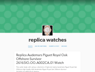 replicawatch88.tumblr.com screenshot