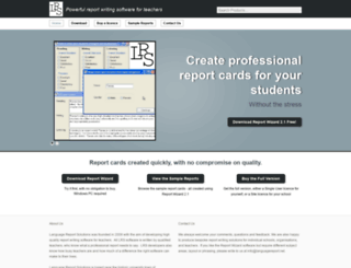 report-writing.net screenshot