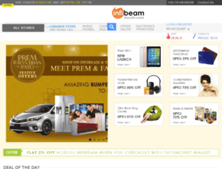 report.infibeam.com screenshot
