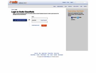 report.oodle.com screenshot