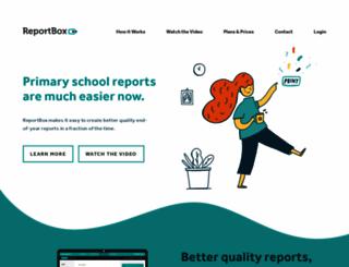 reportbox.com screenshot