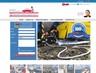 reportcaraccident.com screenshot