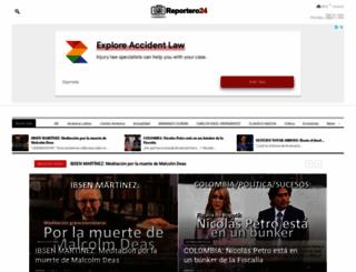 reportero24.com screenshot