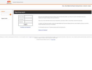 reporting.datacash.com screenshot