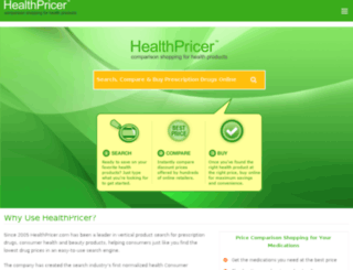 reporting.healthpricer.com screenshot
