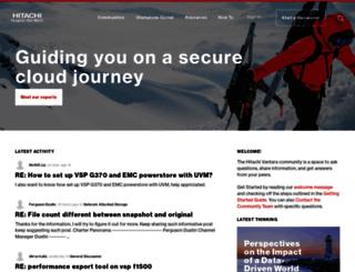reporting.pentaho.com screenshot