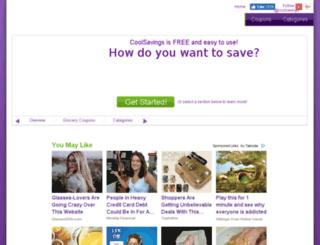 reports.coolsavings.com screenshot
