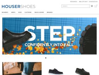 reports.housershoes.com screenshot