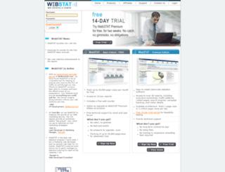 reports.webstat.com screenshot