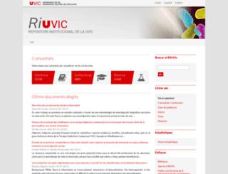 repositori.uvic.cat screenshot