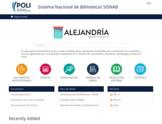 repository.poligran.edu.co screenshot