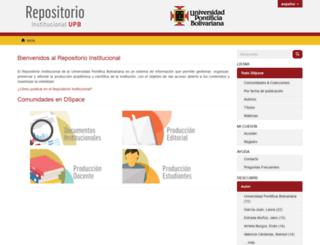 repository.upb.edu.co screenshot