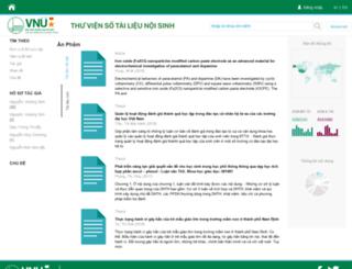 repository.vnu.edu.vn screenshot