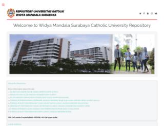 repository.wima.ac.id screenshot