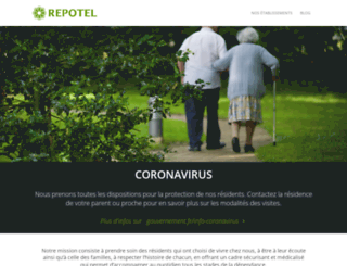 repotel.fr screenshot