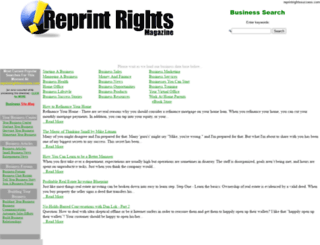 reprintrightssuccess.com screenshot